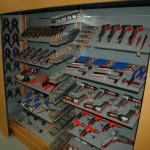 Dalmau Tool Garage internal fit-out