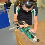 Dalmau Workbench (DWB) with machine vice quick mount