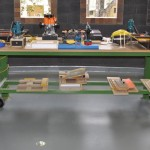 PMPB with MDF top used as jig station