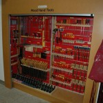 Dalmau Tool Garage (DTG) with tools stored