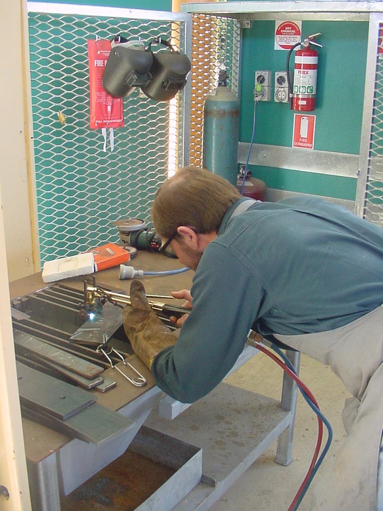 Flame Cutting And Welding Bench Dalmau Designsdalmau Designs