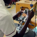 Soldering circuit board using ATP